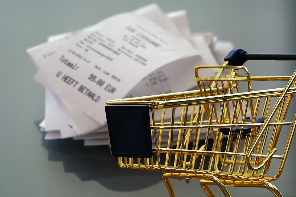 购物, 收据, 业务, 零售, 购物车, 运输, 超市, 食品, 采购, 音乐
