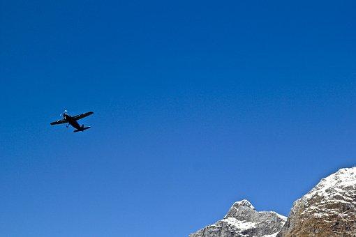 さようなら, 平面, フライ, 旅行, 休暇, フライト, 観光, 飛行, 別れ