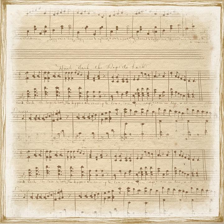 Vintage Beige Music Free Image On Pixabay