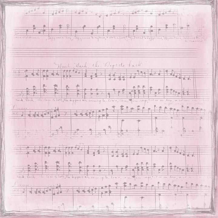 Vintage Pink Music Free Image On Pixabay