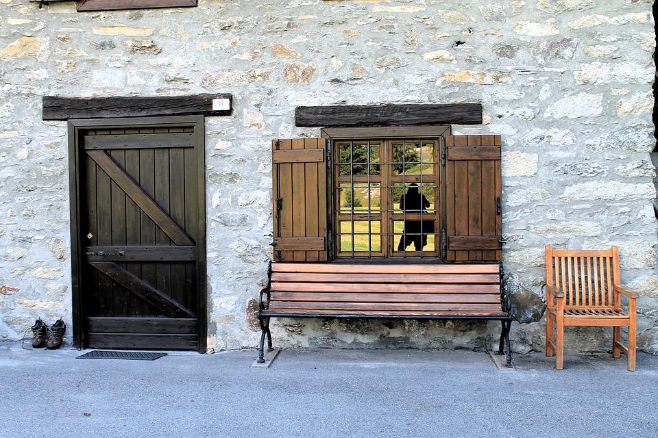 House Door Window Chair Wood