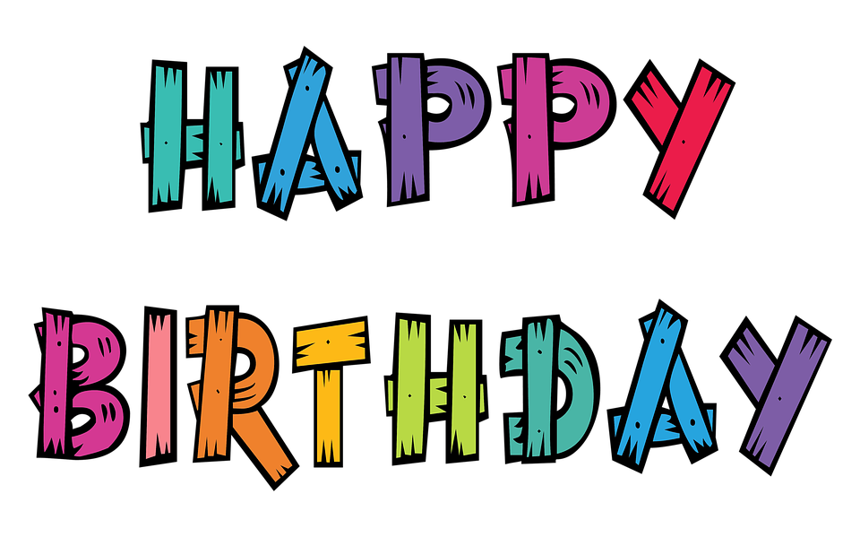 70 Free Happy Birthday Text Images