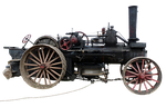 plough, steam engine