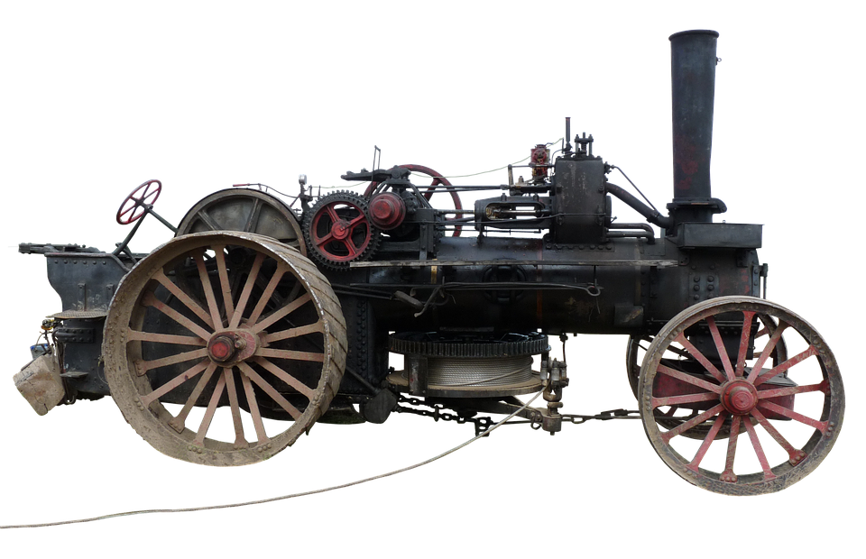 Steam plow plough engine free photo on pixabay for Steamboat motors used cars