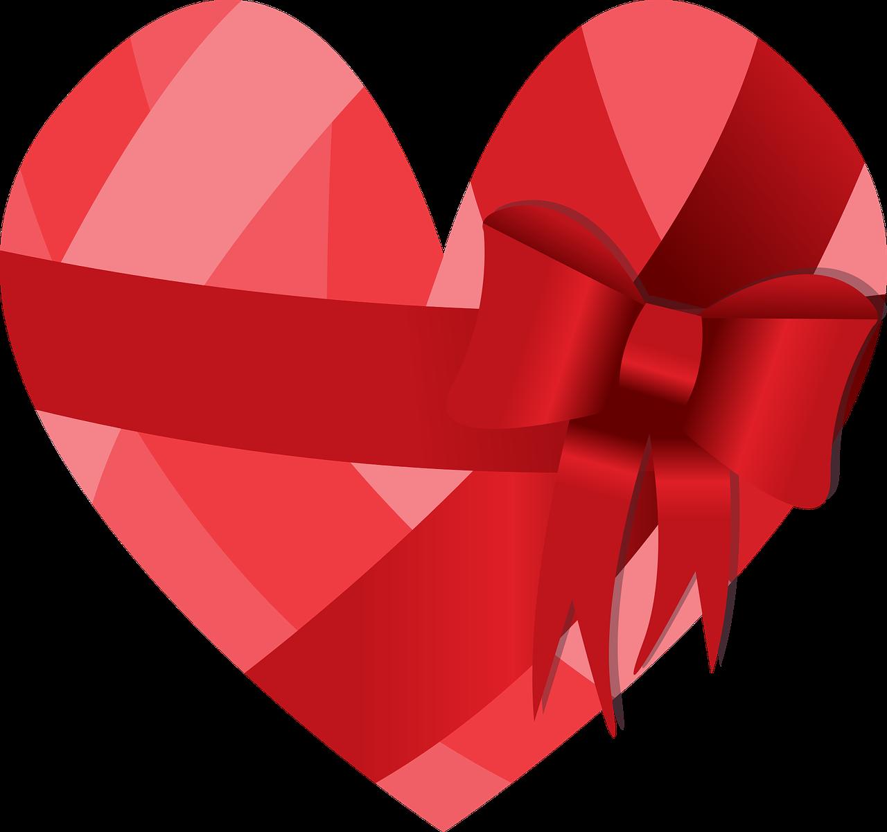 картинка сердце с бантиком знаки руках теле