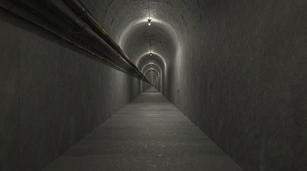 Gang, Tunnel, Architecture, Escape