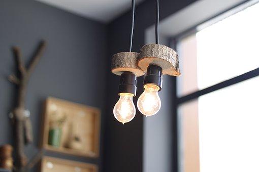 Lights, Glowing, Light Bulbs, Bulbs
