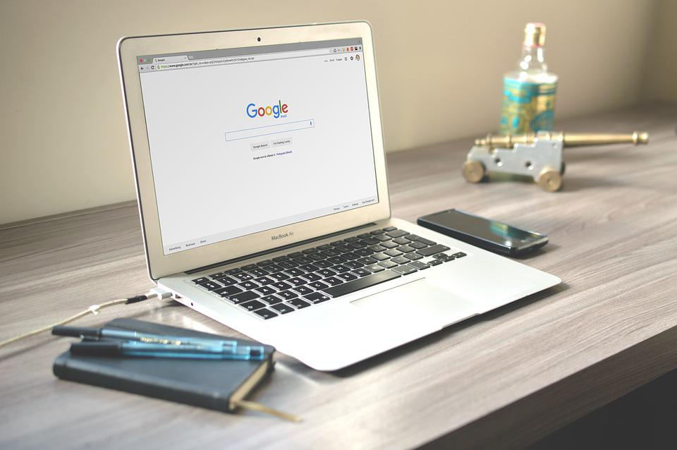 Macbook, ラップトップ, コンピュータ, 技術, オフィス, デスク, 木材, ビジネス
