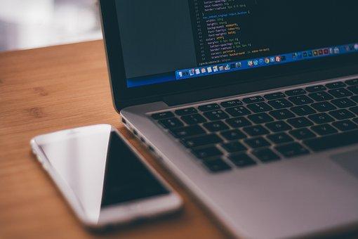 Macbook, ラップトップ, コンピュータ, 技術, プログラミング