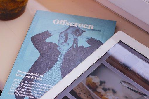 Revista, La Lectura, Comprimido, Ipad