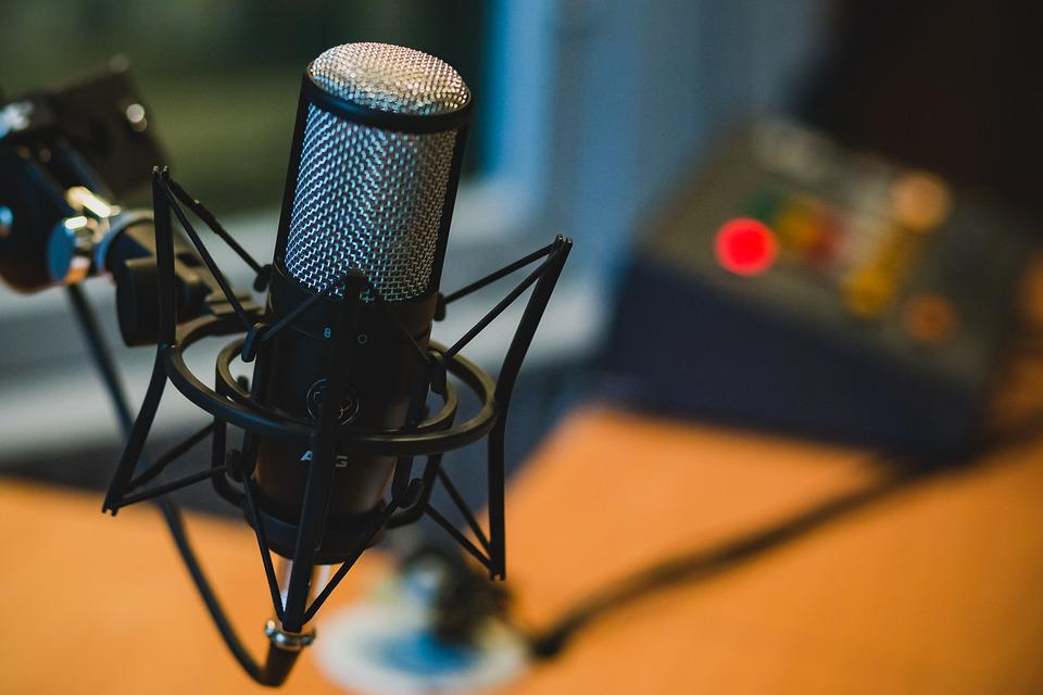 We love podcasts and we don't care who knows it Pixabay