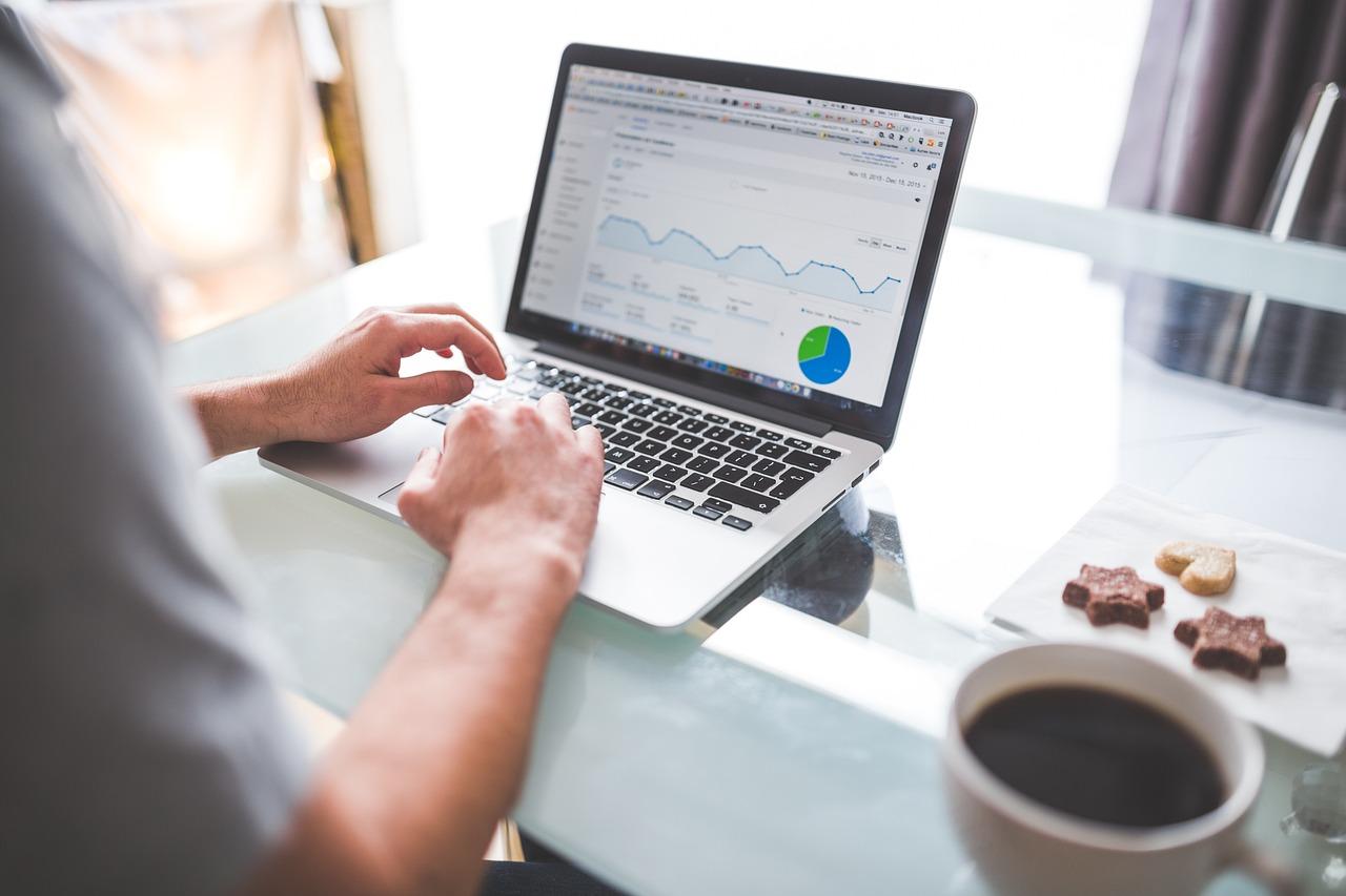 seo insights on laptop