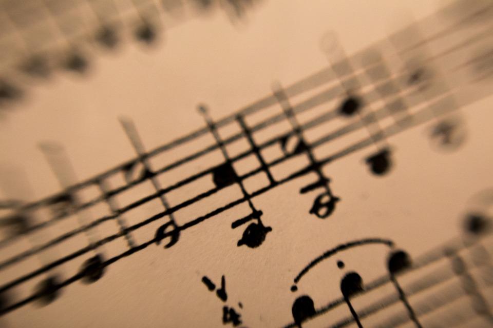 Música Hoja Nota · Foto gratis en Pixabay