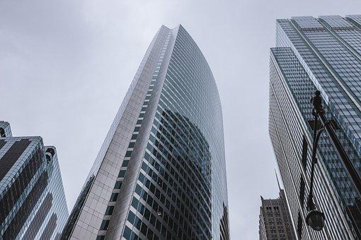 建物, アーキテクチャ, 市, 都市, 高上昇, 高層ビル, 窓, ビジネス