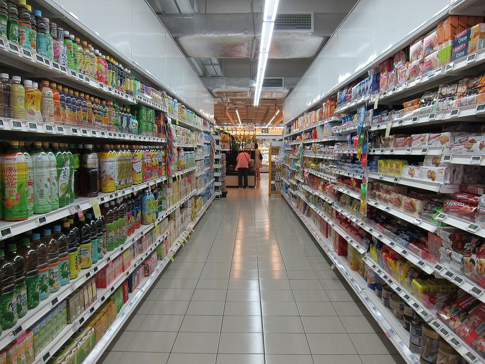 Grocery Store, Market, Supermarket, Store, Food, Shop