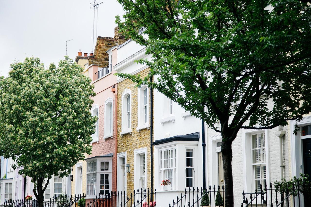 Trees Houses Neighbourhood - Free photo on Pixabay