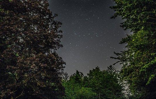 Sterne, Nacht, Himmel, Dunkel, Abend