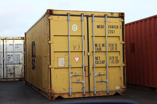 Container, Shipping, Shipping Container