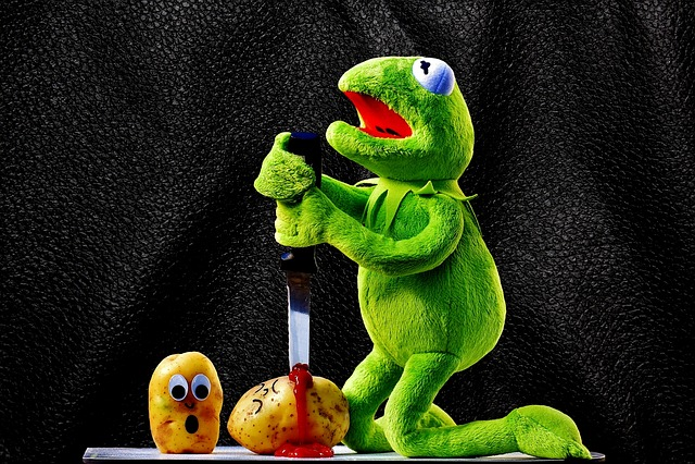Potatoes Knife Ketchup 183 Free Photo On Pixabay