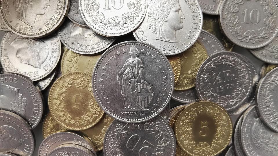 Schweiz Geld Münzen Schweizer Kostenloses Foto Auf Pixabay