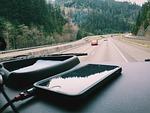 iphone, car, dashboard