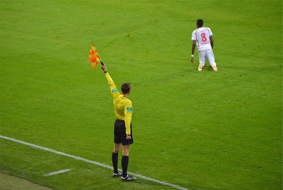 Soccer, Referee, Sports, Green Sports