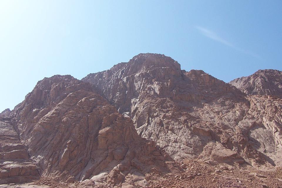 Mount Sinai Mountains - Free photo on Pixabay
