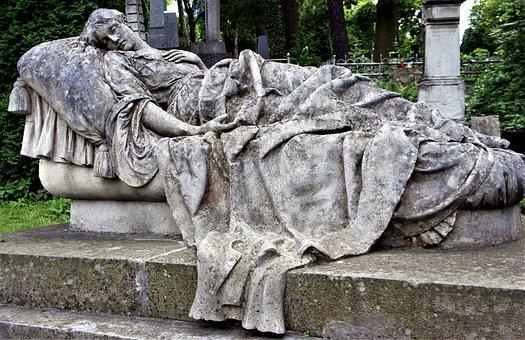 Grab, Denkmal, Stein, Tod, Friedhof