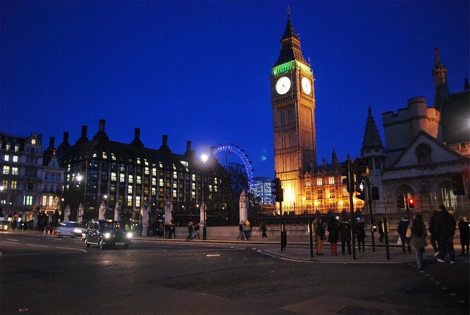 Big Ben, Zegar, Parlament, Londyn, Anglia