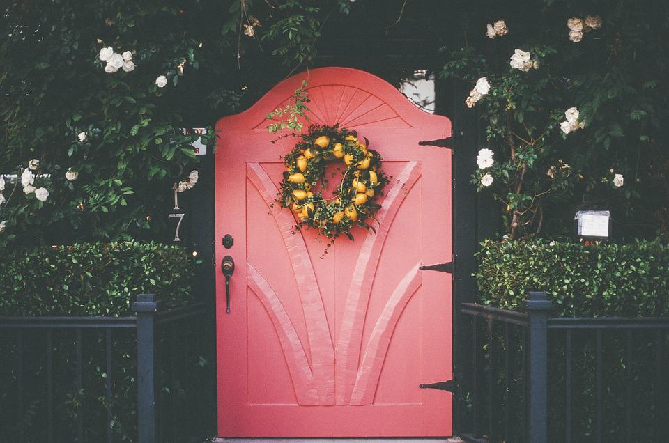 Pink Red Door Free Photo On Pixabay