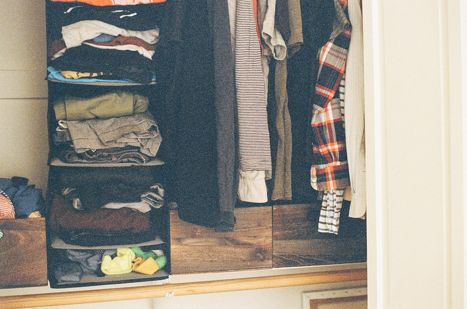 Closet, Clothes, Shirts, Pants