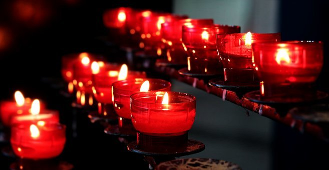 Candles, Church, Light, Lights, Prayer