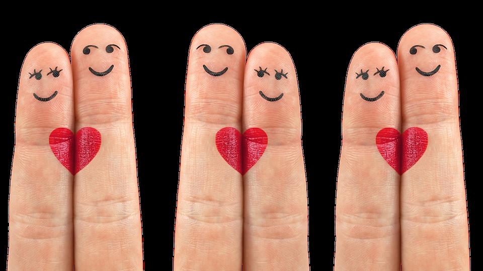Corazón Dedo Amor Foto Gratis En Pixabay