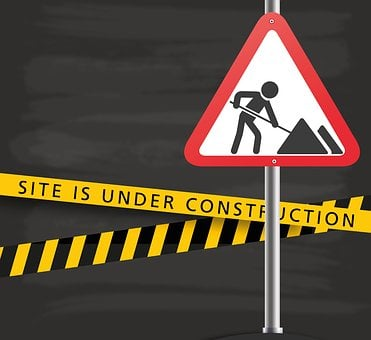 Under Construction, Construction Sign