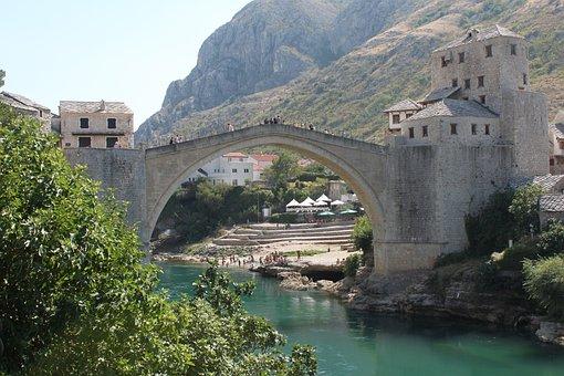 Mostar, Herzegovina, Bosnia, Tourism
