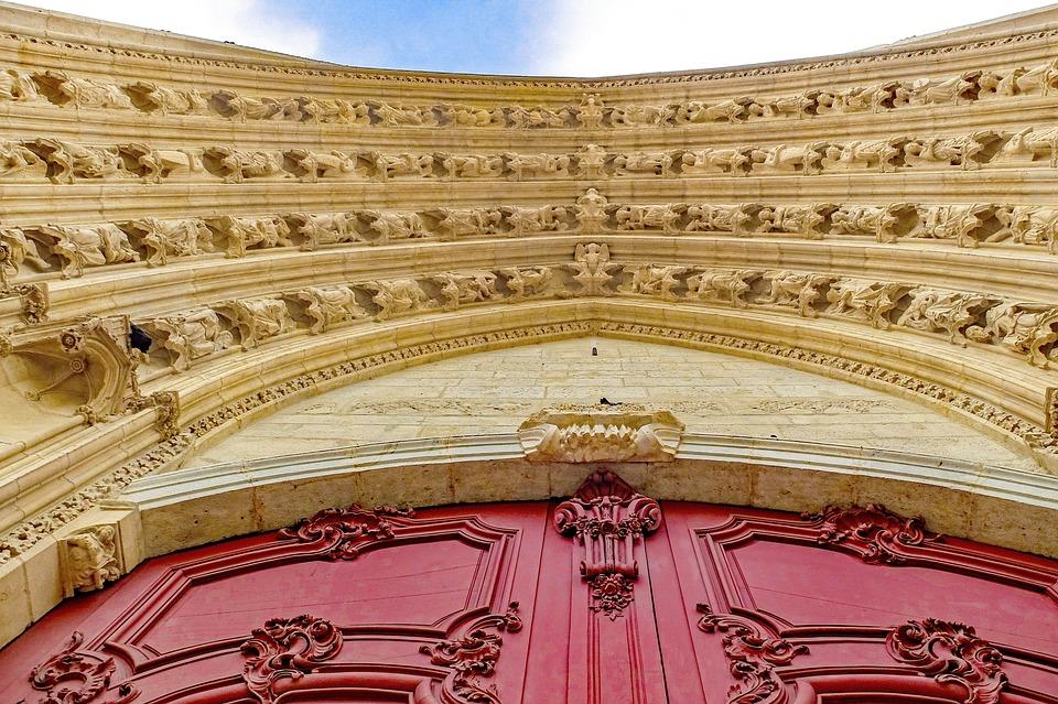Cathédrale, Porte, L'Architecture, Église, Sculpture