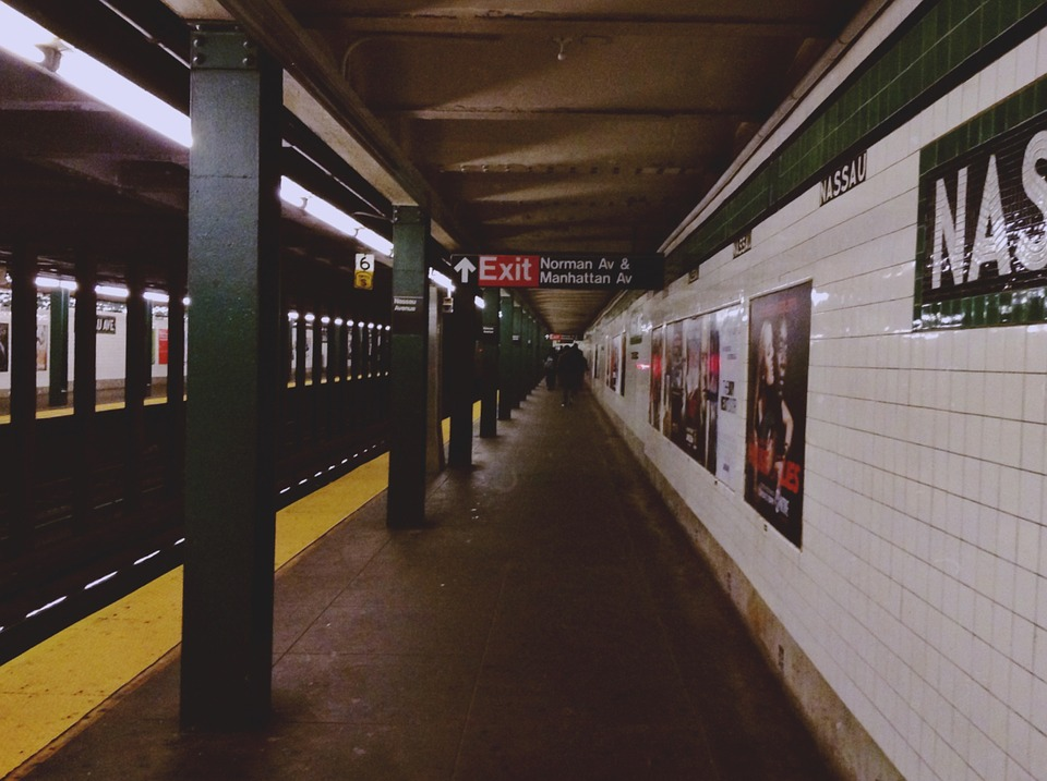 Subway, Station, Transportation, Urban, New York