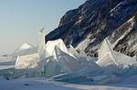 baikal, lake, ice