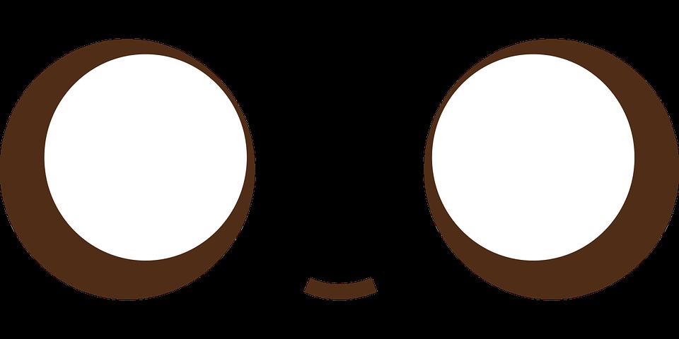 rosto kawaii fofo gráfico vetorial grátis no pixabay