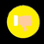 dislike, icon, social media