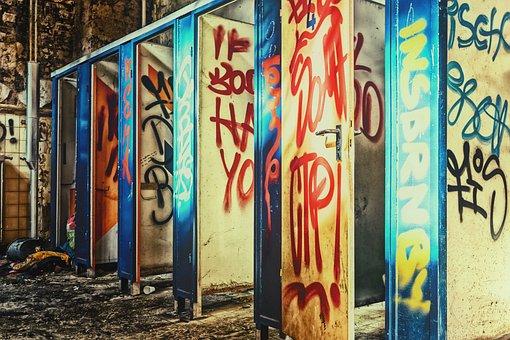 Toilets, Public, Lost Places, Loo