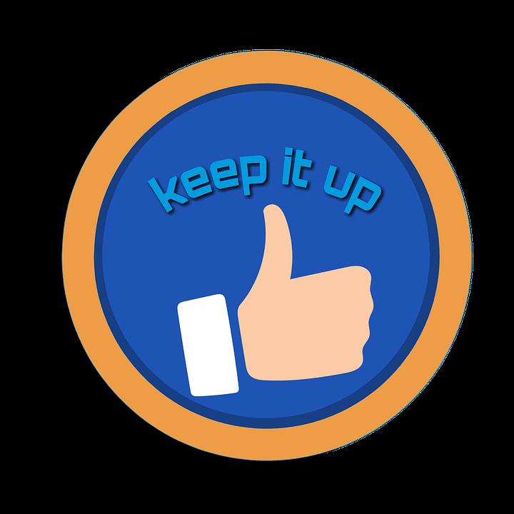 keep it up motivation like free image on pixabay