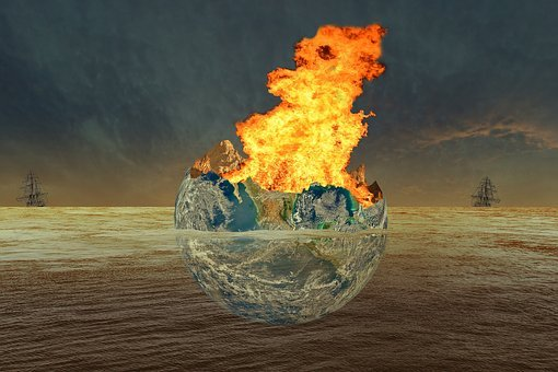 Earth, Fire, Water, World, Frigates