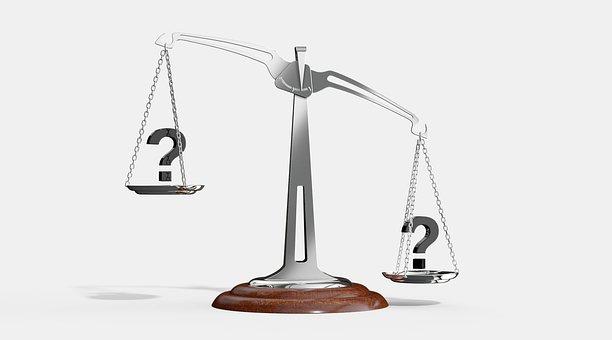 Maßstab, Frage, Bedeutung, Gleichgewicht