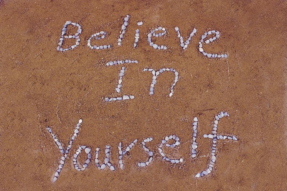Geloof In Jezelf, Zand, Steen, Bruin Zand, Bruine Steen