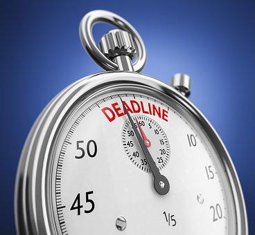 Deadline Stopwatch, Clock, Symbol