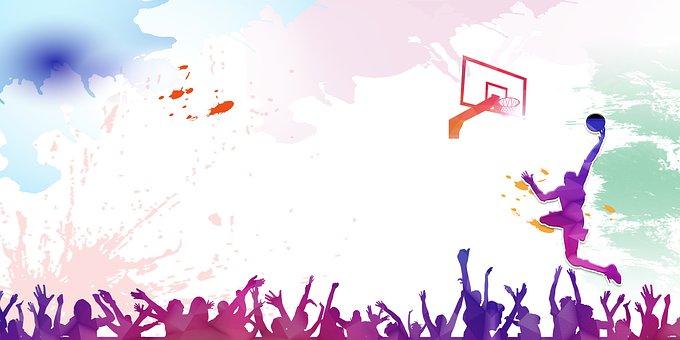スポーツ, バスケットボール, 絵画