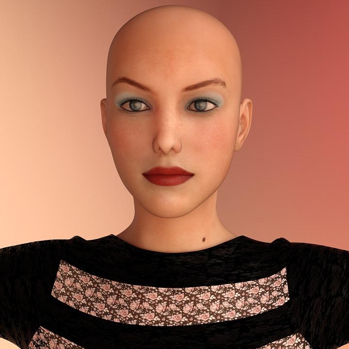 Frau Glatze Gesicht Kostenloses Foto Auf Pixabay