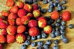 fruit, blueberries, food
