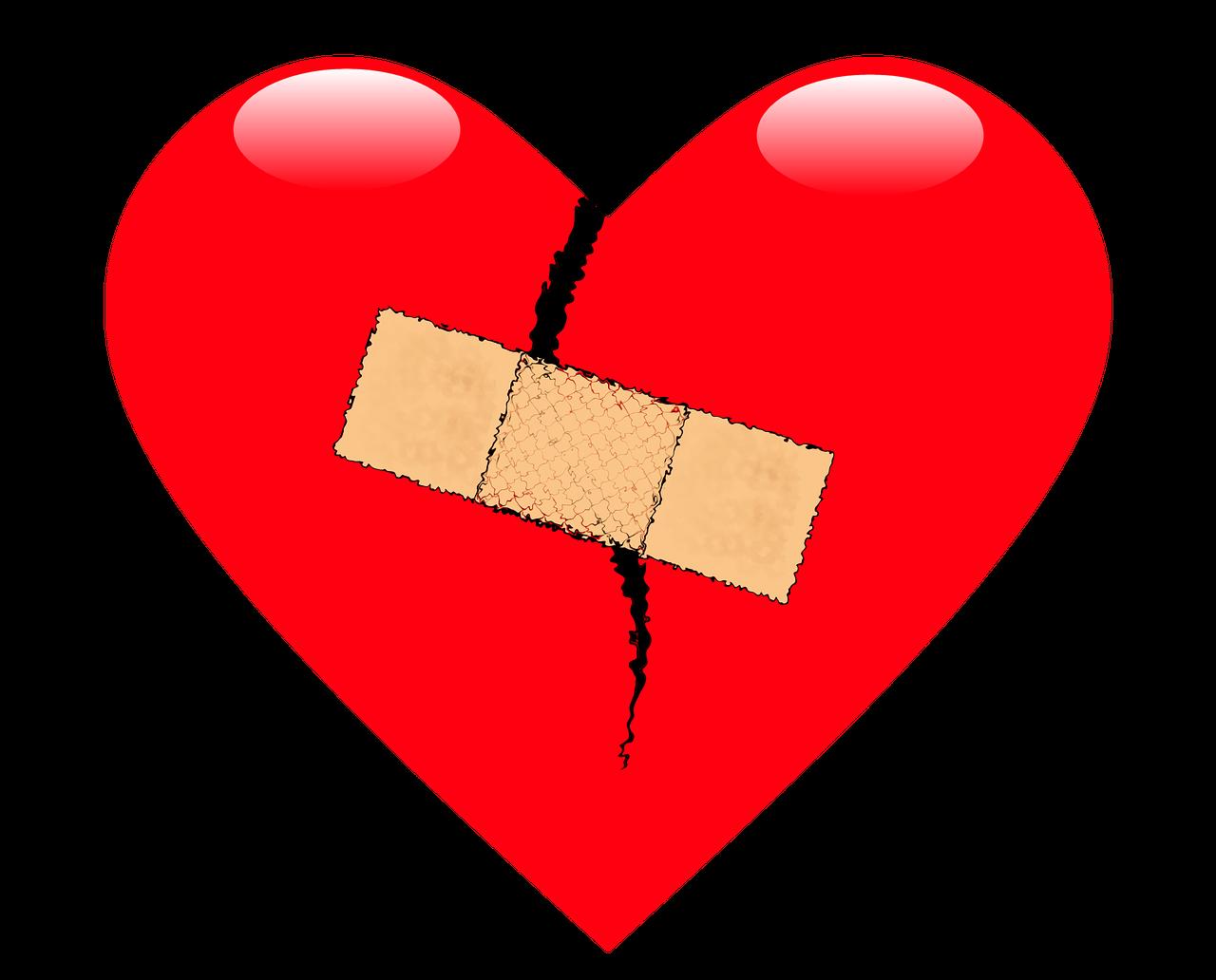 всего первые картинка сердца сломался время